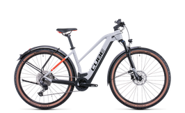 Cube Reaction Hybrid Pro 625 Allroad grey´n´red 2022