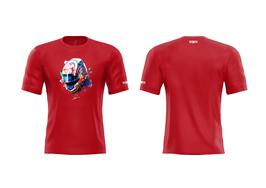 T-Shirt Paul Petit - ROUGE (Modèle Casque)