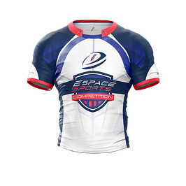 Maillot de Rugby Espace Sports competition (Short+Maillot) Tricolore