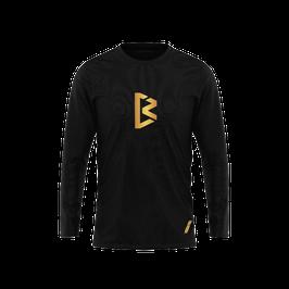 T-Shirt manches longues NBC Gold & Black