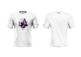 T-Shirt Paul Petit - BLANC (Modèle Casque)