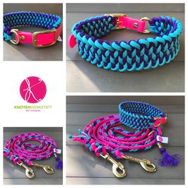 Halsband Manta neon