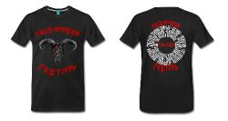 Field Invasion Festival 2016 - T-Shirt Männer - Schädelmotiv mit Line-Up