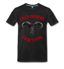 Field Invasion Festival - T-Shirt Männer - Schädelmotiv