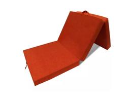 Gyndler 3-teilige Klappmatratze 190x70x9 cm Orange