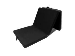 Gyndler 3-teilige Klappmatratze 190x70x9 cm Schwarz