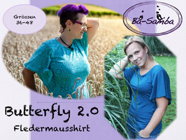 Butterfly 2.0 - Fledermausshirt
