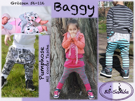 Baggy-Pumphose