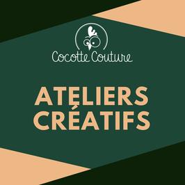 Réservations Cours Couture/Tricot/Crochet