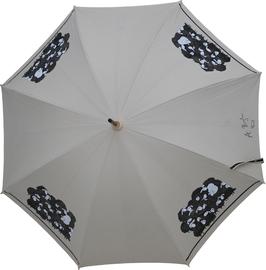 Regenschirm, handbemalt und signiert