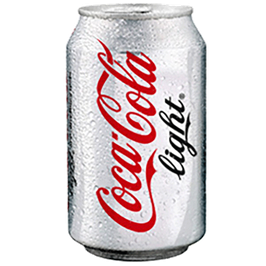 CocaCola light 33 cℓ
