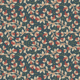 11714 Floral Jacobean.
