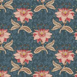 11704 Floral Jacobean.