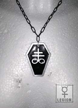 Coffin Sulfur - Silver&Black