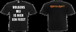 Aufglauft T-Shirt Black
