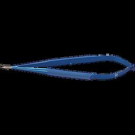 マイクロ持針器 曲 タングステンカーバイドコート