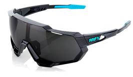 100% Speedtrap - Polished Black/Graphite - Black Mirror