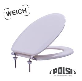 Polsi WC-Sitz, pergamon creme-weiß
