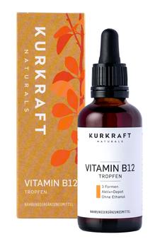VITAMIN B12 KURKRAFT. VEGAN & ALKOHOLFREI