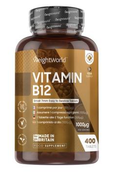 WeightWorld Vitamin B12  I  400 Kapseln