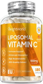 ** Vitamin C - 180 Tabletten bei Müdigkeit & Erschöpfung