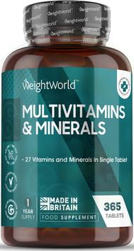 Multivitamin & Minerals 365 Tabletten