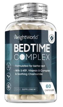 Bedtime Complex 350 mg 60 Kapseln   Natürliche Schlaf Ergänzung