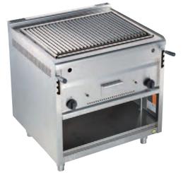 EKU Gas-Lavasteingrill PLX-Serie