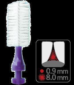 paro® isola F – medium-large, violett, zylindrisch