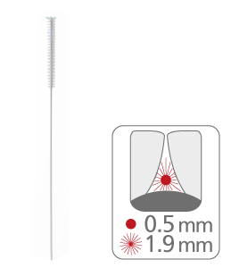 paro® isola long – xxx-fin, blanche, cylindrique