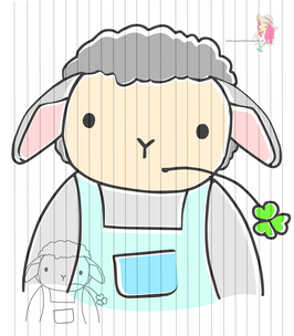 mr sheep {digi-stamps}