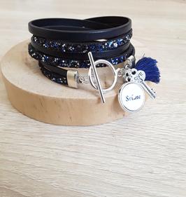 Bracelet blue jean
