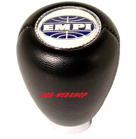 pommeau en vinyl noir siglé EMPI pour coccinelle