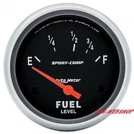 Manomètre de niveau d'essence diamètre 52mm