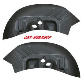 Renfort de support d'amortisseur arrière cox  8/66-> (pour barre stabilisatrice)