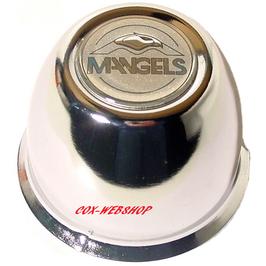 cache moyeu en acier chromé diamètre 80mm (hauteur 75mm) type modular; prolite et centerline en 4 trou