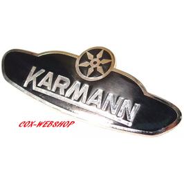 écusson KARMANN pour coccinelle cabriolet de 61->79