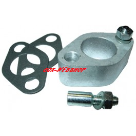 kit entretoise d'élévation de carburateur de 28 à 31mm (pour passage de l'alternateur)