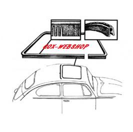 Joint de toit ouvrant arrière cox 64->77 & 1302