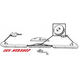 Pignon d'entrainement de mécanisme de toit ouvrant coccinelle toutes années