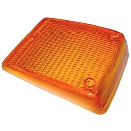 Glace de clignotant orange avant pour combi 73->