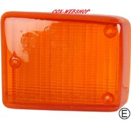 Glace de clignotant orange avant pour combi 73-> qualité OEM
