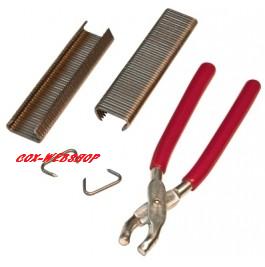 kit de fixation de housses de sièges avec pince