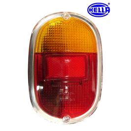 Vitre de feu arrière pour T2 de 68->72 EUROPE rouge/orange HELLA