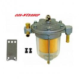 """Filtre à essence régulateur """"KING"""" prévu pour montage manomètre réf U120552"""