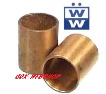 Set de 2 bagues en bronze de nez de boîte T1 <-68
