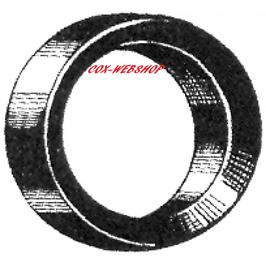 Joint d'étanchéité supérieur ou inférieur de bras de suspension pour combi <-7/67