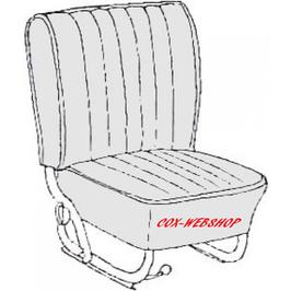 kit housses de sièges pour coccinelle cabriolet de  68->72
