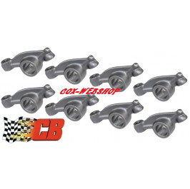 Set de 8 culbuteurs ratio 1.1 sur rampe d'origine en chromoly  E4340