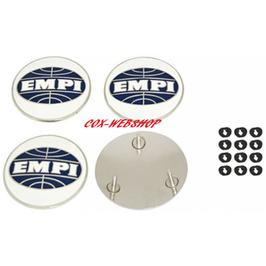Set de 4 centres avec logo EMPI pour enjoliveurs style 356